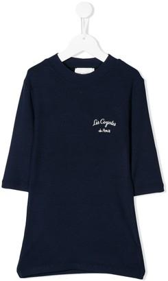 LES COYOTES DE PARIS Laure ribbed knit T-shirt