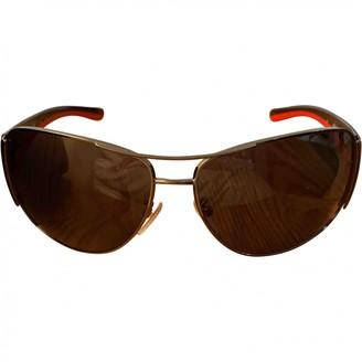Prada Beige Plastic Sunglasses