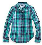 Tommy Hilfiger Little Girl's Runway Of Dreams Plaid Shirt