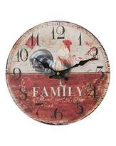 Fashion World Hometime Family Wall Clock 30cm