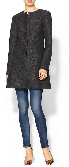 BB Dakota Rosette Coat