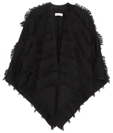 Burberry Wool And Cashmere Fil Coupé Cape