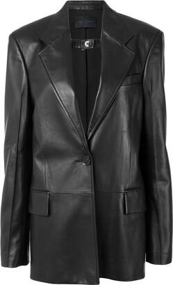 Proenza Schouler Shiny Leather Blazer