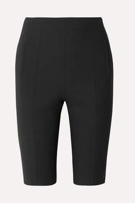 Tibi Anson Woven Shorts - Black