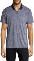 Armani Exchange Men's Hester Pique Mesh Polo Shirt