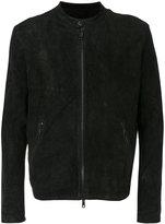 Giorgio Brato zipped bomber jacket - men - Lamb Skin - 46