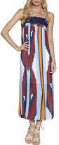 Ministry of Style Mosaic Muse Pleated Maxi Dress