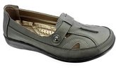 Pierre Dumas Pewter Libby Loafer