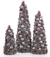 Southern Living Nostalgic Noel Collection Pinecone Decorative Tree