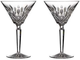 Waterford Lismore Giftward 2-Piece Martini Glass Set