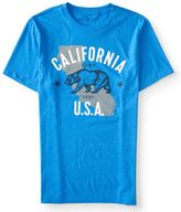 California Bear Graphic Tee***