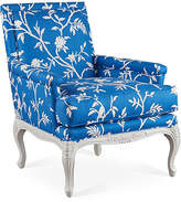 Dana Gibson Tiverton Accent Chair - Blue Floral