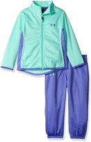 Under Armour Little Girls' Toddler Track Jacket and Pant Set