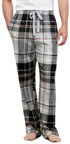 Kenneth Cole Printed Plaid Lounge Pant