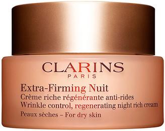 Clarins Extra-Firming Wrinkle Control Regenerating Night Cream Dry Skin