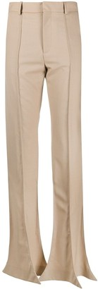 Y/Project High-Waisted Flared Trousers