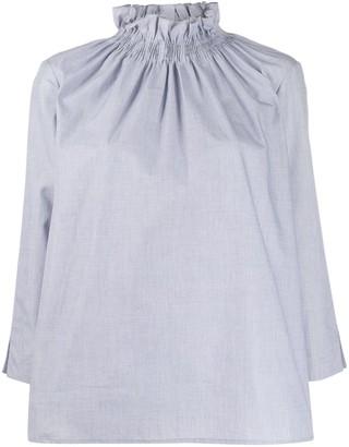 Teija Paita smocked blouse