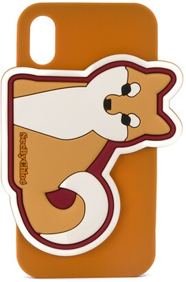 See by Chloe fox iPhone X/XS case