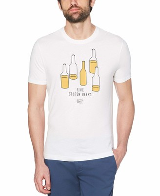 Original Penguin Men's Short Sleeve Happy Hour Tee