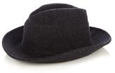 Yohji Yamamoto Wool Fedora Hat