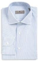 Canali Men's Regular Fit Stripe Dress Shirt