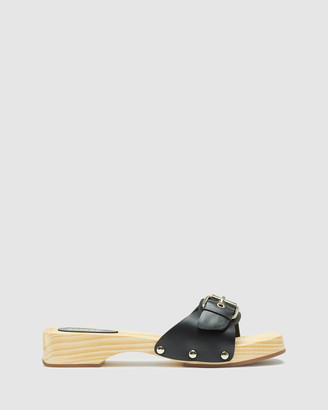 Oxford Women's Sandals - Alegra Leather Slide - Size One Size, 37 at The Iconic