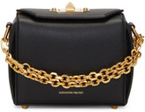 Alexander McQueen Black Leather Box 16 Bag