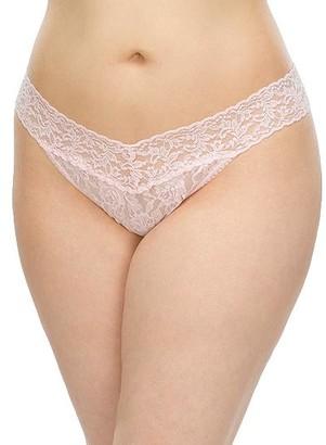 Hanky Panky Plus Size Signature Lace Original Rise Thong