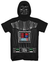Star Wars Boys' Vader Half Face T-Shirt - Black