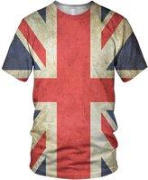 alloverprint.it All Over 3D Print Union Jack Fashion Ladies T Shirt