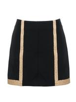 Rag and Bone RAG & BONE Gold Trim Skirt