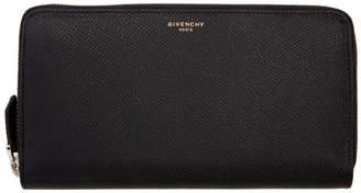 Givenchy Black Long Zipped Wallet