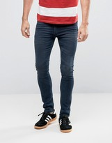 Levis 519 Extreme Skinny Fit Jean Sharkley Dark Wash