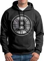 Sarah Men's Boston Bruins Platinum Logo Hoodie XL