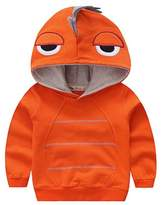 Canvos Baby Boys Autumn Long Sleeve Dinosaur Hoodie Toddler Outwear Clothes (4-5Y, )