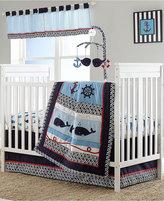 Nautica Whale of a Tale 4 Piece Crib Bedding Set