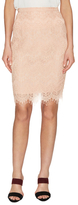 Style Stalker Elliot Lace Cotton Pencil Skirt