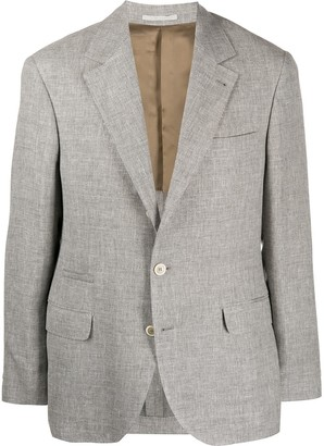 Brunello Cucinelli Single-Breasted Suit Jacket