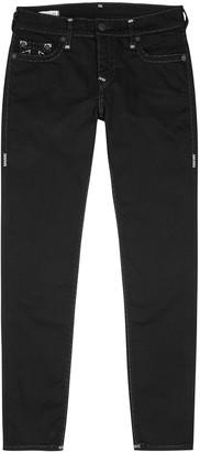 True Religion Tony black skinny jeans