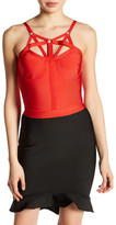 Wow Couture Halter Crop Shirt