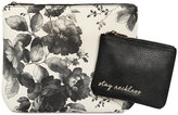 Lucky Brand 2-Pc. Cosmetic Bag Set