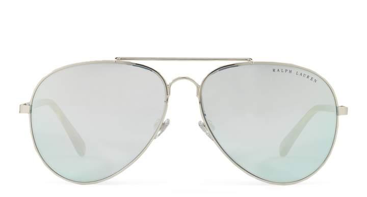 Ralph Lauren Mirrored Pilot Sunglasses