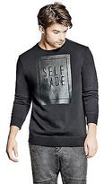 GUESS Men's Kessler Slogan Sweatshirt