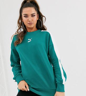 Puma Exclusive Classics T7 teal green sweatshirt