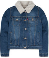 Levi's Faux-Fur Denim Jacket, Little Girls (2-6X)