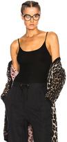 Ulla Johnson Autumn Bodysuit in Black.