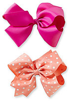 Copper Key 2-Pack Dotted King Bows