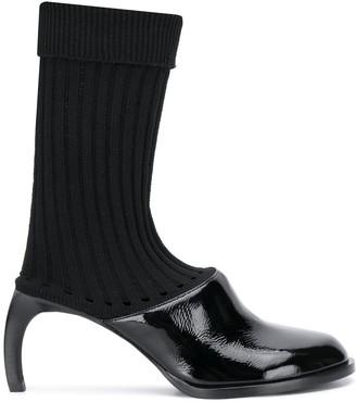 Ann Demeulemeester Sock-Style Slip-On Mules