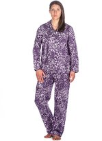 Noble Mount Women's Cotton Flannel Pajama Set - 3XL
