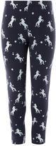 Monsoon Unicorn Foil Legging